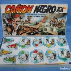 Juegos antiguos: 3- JUEGO DE PIRATAS CAÑÓN NEGRO DE BORRAS. Lote 105890747
