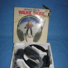 Juegos antiguos: J. WALKIE-TALKIE-TALKIE DE JUGUETE GREAT. Lote 106004579