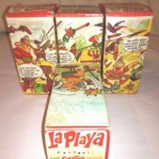 Juegos antiguos: ANTIGUAS CAJAS COMICS ENROLLABLES AÑOS 60.. Lote 106016535