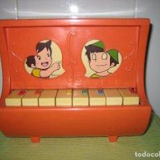 Juegos antiguos: PIANITO INFANTIL DE ROIG. HEIDI DE TVE. ZOIYO . Lote 106369567