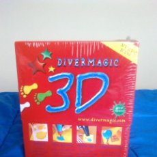 Juegos antiguos: DIVERMAGIC 3D SIN ESTRENAR Y CON ENVOLTORIO ORIGINAL. Lote 107516075
