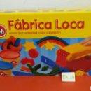 Juegos antiguos: FÁBRICA LOCA PLASTILINA PLAY DOH 1993.NUEVO EN CAJA SIN ABRIR.. Lote 108857743
