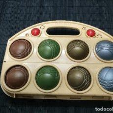 Juegos antiguos: ANTIGUO JUEGO DE LA PETANCA DE JUGUETES FERGARART. Lote 109055715