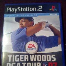 Juegos antiguos: TIGUER WOODS PGA TOUR 2007 PLAY STATION 2. Lote 109059934