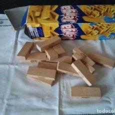Juegos antiguos: 32-JUEGO JENGA INCOMPLETO, SOLO 35 PIEZAS. Lote 109559595