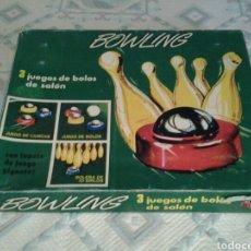 Juegos antiguos: BOWLING. JUEGO DE BOLOS. Lote 111600028