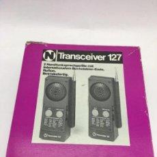 Juegos antiguos: RADIO TRANSMISORES - WALKIE TALKIE - ALEMANES - AÑOS 70. Lote 111670407