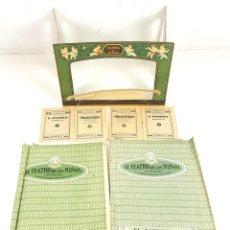 Juegos antiguos: EL TEATRO DE LOS NIÑOS. ESCENARIO Y 2 OBRAS COMPLETAS. SEIX BARRAL. 1951. . Lote 111766431