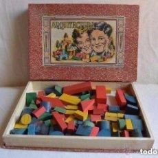 Juegos antiguos: JUEGO GRAN ARQUITECTURA MADERA. Lote 112116275