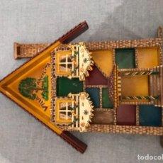 Juegos antiguos: ANTIGUA CASA DE MADERA ECHA MANO TAMAÑO GRANDE VILLA ANGÉLITA. Lote 112445703