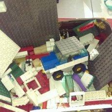 Juegos antiguos: LOTE DE PIEZAS INCLUIDO VEHICULO TIPO COCHE. Lote 112715987