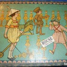 Juegos antiguos: ANTIGUO ROMPECABEZAS AÑOS 20 , TEMA MILITAR / INFANTIL . 6 FIGUAS , BUEN ESTADO SOLO FALTA UN LOMO . Lote 113594267