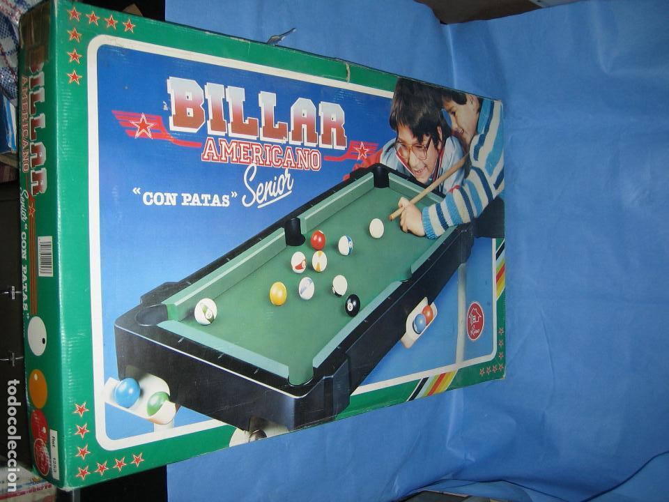 BILLAR AMERICANO DE RIMA (Juguetes - Juegos - Otros)