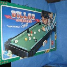 Juegos antiguos: BILLAR AMERICANO DE RIMA. Lote 113703623