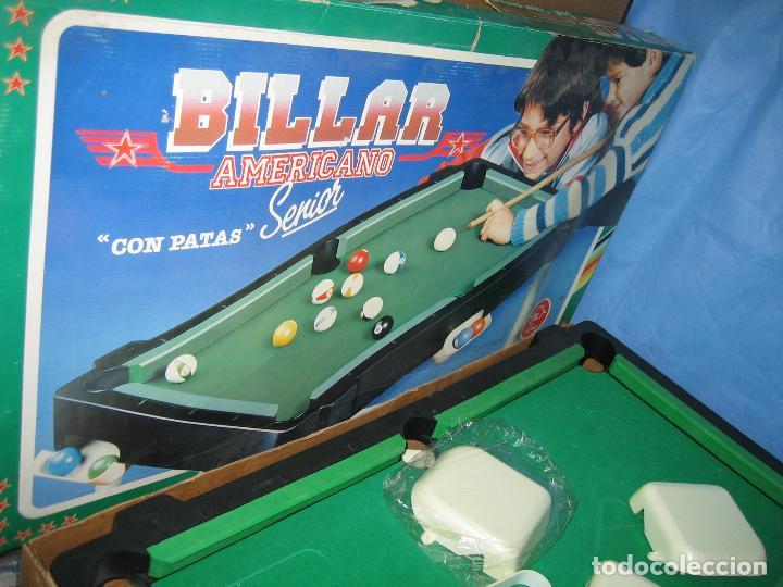 Juegos antiguos: Billar americano de Rima - Foto 3 - 113703623