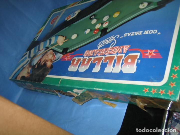 Juegos antiguos: Billar americano de Rima - Foto 12 - 113703623