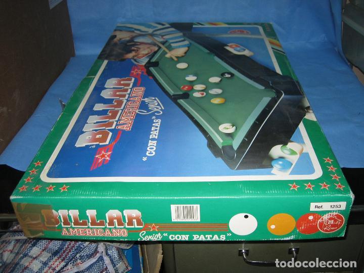 Juegos antiguos: Billar americano de Rima - Foto 13 - 113703623