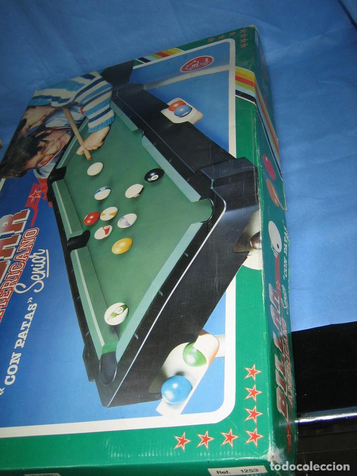 Juegos antiguos: Billar americano de Rima - Foto 14 - 113703623