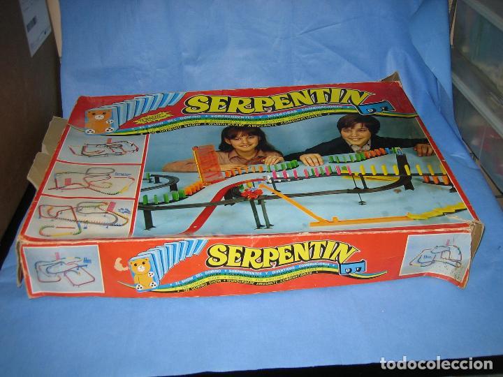 Juegos antiguos: juego de fichas serpentin - Foto 10 - 113704107