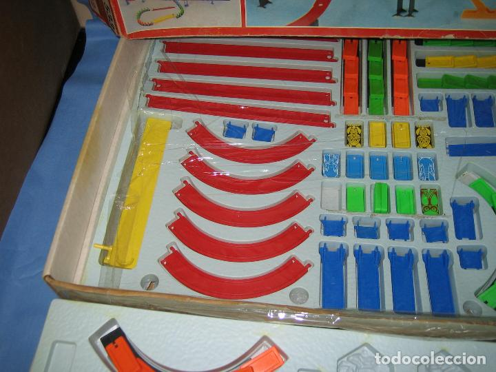 Juegos antiguos: juego de fichas serpentin - Foto 11 - 113704107