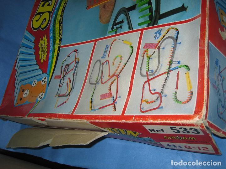 Juegos antiguos: juego de fichas serpentin - Foto 12 - 113704107