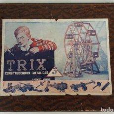 Juegos antiguos: JUEGO DE CONSTUCCIÓN MECÁNICA TRIX. Nº 3. ESPAÑA. CIRCA 1940. . Lote 114512711