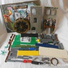 Juegos antiguos: LOTE DE PIEZAS MEGA BLOKS PIRATAS DEL CARIBE. Lote 114619567