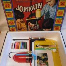 Juegos antiguos: JUEGO DE DIBUJO CON DIAPOSITIVAS JOMAKIN. AÑOS 70. COMPLETO Y EN PERFECTO ESTADO. FUNCIONANDO. . Lote 114662211