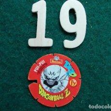 Juegos antiguos: TAZO VOLADOR MATUTANO DRAGON BALL Z Nº 19. Lote 114888651