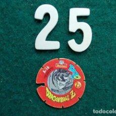 Juegos antiguos: TAZO VOLADOR MATUTANO DRAGON BALL Z Nº 25. Lote 114888667