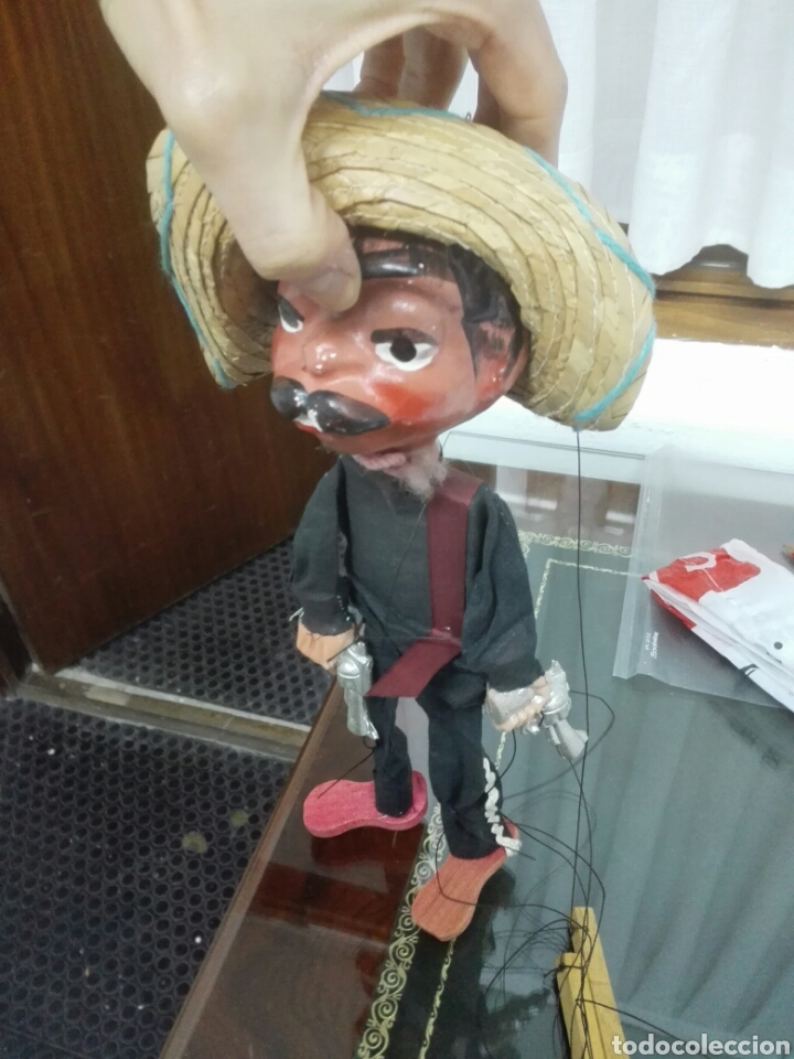 Juguete Marioneta Mexicano Con Dos Pistolas Me Comprar Juegos