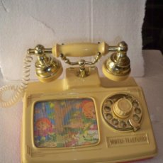 Juegos antiguos: VIDEO TELEFONO BERNABEU GISBERT MUSICAL VIDEOTELEFONO. Lote 117013528