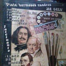 Juegos antiguos: INICIAR-PINTAR AL ÓLEO COMPLETO. Lote 115605723