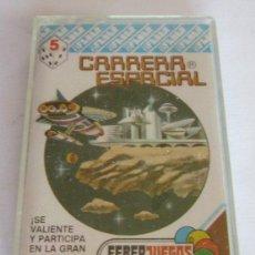 Juegos antiguos: JUEGO DE BOLSILLO CASSETTE MAGNETICO JUEGO CARRERA ESPACIAL, DE FEBERJUEGOS. CC. Lote 115644059