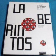 Juegos antiguos: LABERINTOS, EL LIBRO DE LABERINTOS MAS GRANDE DEL MUNDO. Lote 116646847