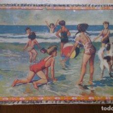 Juegos antiguos: ANTIGUO JUEGO DE CUBOS ROMPECABEZAS ENRIQUE BORRAS MATARO AÑOS 50. Lote 117453003