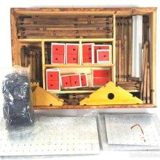 Juegos antiguos: JUEGO DE CONSTRUCCIÓN. CHALET DE MONTAÑA. JOGA. JOGOLANDIA. ABETO ROJO. AÑOS 60. . Lote 117515283