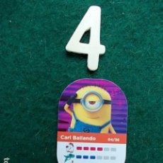 Juegos antiguos: SUPERMERCADOS DIA GRU 3 MI VILLANO FAVORITO Nº 4. Lote 117909955