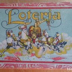 Juegos antiguos: JUEGO DE MESA ANTIGUO LOTERÍA BORRAS . Lote 118014495