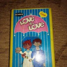 Juegos antiguos: JUEGO DE BOLSILLO GEYPER:LOVE&LOVE. Lote 118063439