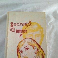 Juegos antiguos: BROMA SANROMÁ LIBRO SUSTO SECRETOS DE AMOR. Lote 172767930