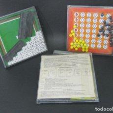 Juegos antiguos: 3 JUEGOS MAGNETICOS: JUEGO RIMA EN CAJA - 3 EN RAYA , DOMINO, CRUCIPALABRAS. Lote 120300003