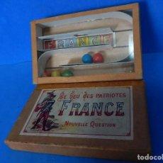 Juegos antiguos: LE JEU DES PATRIOTES. FRANCE.. Lote 136321793