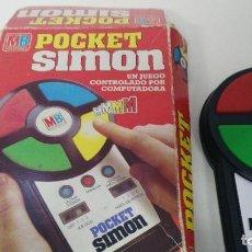 Juegos antiguos: JUEGO DE MB SIMON POCKET FUNCIONANDO. Lote 121132903