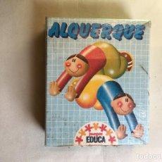 Juegos antiguos: JUEGO ALQUERQUE DE EDUCA. Lote 121383219