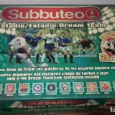 Juegos antiguos: JUEGO DE FUTBOL SUBBUTEO MB INCOMPLETO. Lote 121481611
