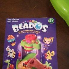 Juegos antiguos: BEADOS. CREA Y FIJA CON AGUA Y MAGIA.. Lote 121490799