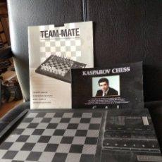 Juegos antiguos: AJEDREZ - TEAM MATE CHESS COMPUTER - KASPAROV. Lote 122092423