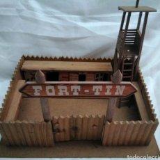 Juegos antiguos: FORT-TIN COMANSI MADERA. Lote 122127700