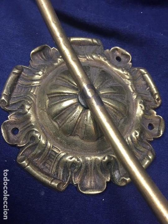 Juegos antiguos: aro laton con roseton para fijar a pared juego canasta o similar ppio s xx 1900 43x39,5cms - Foto 11 - 122260183
